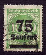 Buy German Used Scott #252 Catalog Value $1.90