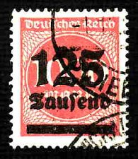 Buy German Used Scott #255 Catalog Value $1.90