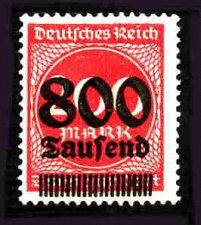 Buy German Hinged Scott #263 Catalog Value $.25
