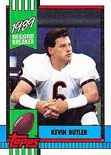 Buy Kevin Butler #4 - Bears 1990 Topps Football Trading Card