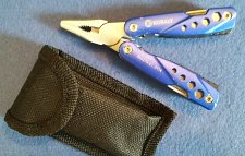 Buy KOBALT SMALL PLIERS 11 in 1 MultiTool w/Case for your belt! - Sold in US Only