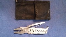 Buy SMALL SPRING ASSIST PLIERS -9n1 Stainless Steel Handy MultiTool w/Case -US ONLY