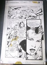 Buy Original Comic Art SUPERMAN ANNUAL Issue 8 Page 26 Tom Grindberg 1996 DC Comics