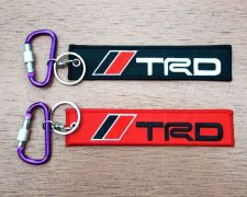 Buy TRD Keychain Keyring Key Holder Embroidered Fabric Strap Tag Motorcycle,GIFT
