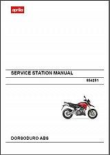 Buy 2011-2014 Aprilia Dorsoduro ABS 750 Service & Parts Manual on a CD