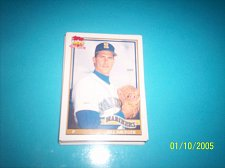 Buy 1991 Topps Traded card of bill krueger mariners #70T mint free ship