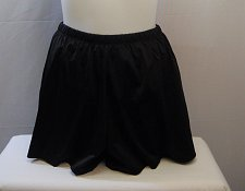 Buy SIZE 20 Women Jogger Swim Shorts SWIM365 Solid Black Attached Brief Elastic Wais