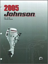 Buy 2005 and up Johnson 9.9 / 15 HP 4-Stroke Outboard Motors Service Manual on a CD