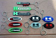 Buy KAWASAKI LOGO KEYCHAIN KEY RING RUBBER MOTORCYCLE BIKE GIFT FREE SHIPPING