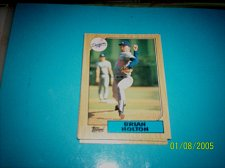 Buy 1987 Topps Traded Baseball CARD OF BRIAN HOLTON DODGERS #T49 MINT
