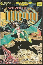 Buy World of Wood #3 Wally Wood Al Williamson Blevins Cover 1986 Eclipse Comics