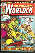 Buy The Power of Warlock #4 GUARDIANS OF THE GALAXY Fredrich & Gil Kane