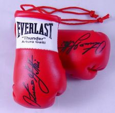 Buy Autographed Mini Boxing Gloves Arturo (Thunder) Gatti