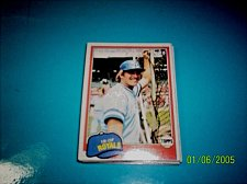 Buy 1981 Topps BASEBALL CARD OF PETE LACOCK #9 MINT FREE SHIPPING