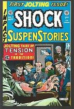 Buy SHOCK SUSPENSTORIES #1 EC Comics Russ Cochran 1950's /1992 Reprint Wood Cover