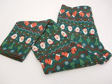 Buy SIZE XL Womens CHRISTMAS MITTENS Fleece Lined Leggings NO BOUNDARIES Inseam 29