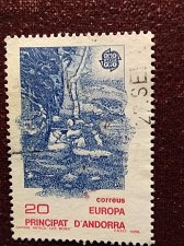 Buy Andorra Spanish 1v used stamp 1998 Theme 1988 Eurostamps