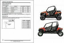 Buy 2013 Polaris Ranger RZR / RZR S / RZR 4 800 Service Manual on a CD