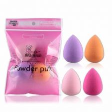Buy Pro Beauty Flawless Makeup Blender Foundation Puff Multi Shape Sponges 4pcs