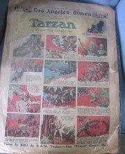 Buy Sunday Newspaper Comics: TARZAN June 25, 1933 HAL FOSTER Original Comic Strip
