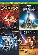 Buy 4Movie DVD Flash Gordon,Last Starfighter,Battlestar Galactica,Virginia MADSEN