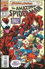 Buy The AMAZING SPIDER-MAN #380 CARNAGE VENOM Marvel Comics 1st Print & Series 1993