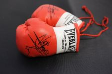 Buy Autographed Mini Boxing Gloves Prince Naseem Hamad
