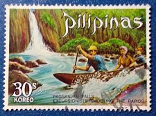 Buy Philippines stamp 1 v Used 1971,Thematic Pagsanjan Falls.