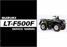 Buy 1998-2002 Suzuki LT-F500F QuadRunner 500 Service Repair Manual CD - Quad Runner