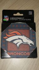Buy Denver Broncos Lot of (2) 8 Pack Coasters (405)