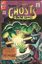 Buy Many Ghosts of Doctor Graves #32 STEVE DITKO Story CHARLTON COMICS 1972
