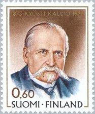 Buy Finland stamp 1 v MNH Kallio, Kyösti (1873-1940) President of State 100th Birth