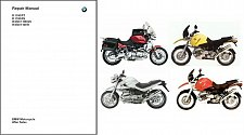 Buy 1993-2003 BMW R1100R R1100GS R1100RT R1100RS Service & Parts Manual on a CD