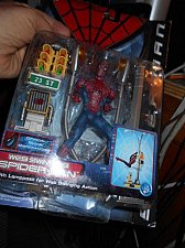 Buy TOYBIZ WEB SWINGING SPIDER-MAN TOY w/ Lamposts + #43710 Series 2