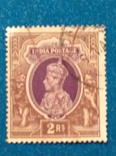 Buy British India useD Stamp 1v 1937 King George VI SG 260
