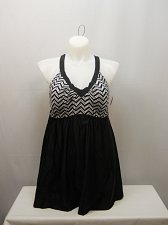 Buy SIZE 18 Women 1PC V-Neck Sport Swimdress SHORE CLUB Black Crossback Straps