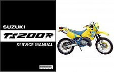 Buy 1991 1992 1993 Suzuki TS200R Service Repair Manual on a CD