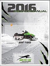Buy 2016 Arctic Cat ZR 120 Snowmobile Service Repair Workshop Manual CD