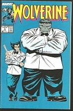 Buy WOLVERINE #8 HULK VF+/NM- High Grade Marvel Comics 1989