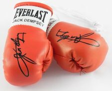 Buy Autographed Mini Boxing Gloves Jack Dempsey