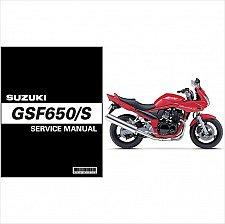 Buy 2005-2006 Suzuki GSF650 / GSF650S Bandit Service Repair Manual CD .. GSF 650 S
