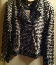 Buy Lucky Brand 7W71974 XL Women`s Tectured Moto Jacket
