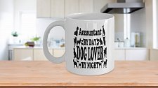 Buy Accountant By Day Dog Lover By Night Coffee Mug