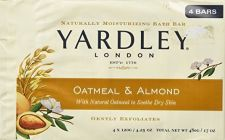 Buy Yardley of London Naturally Moisturizing Bar Soap Oatmeal & Almond 3+1 Free
