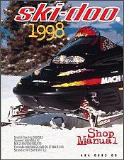Buy 1998 Ski-Doo Grand Touring Summit MX Z Scandic Formula Service Manual on a CD