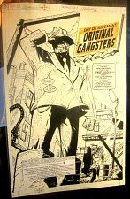Buy Batman: Dean Zachary Sal Buscema ORIGINAL COMIC ART Splash Page Orig Gangsters