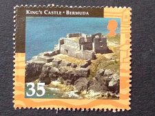 Buy Bermuda 2001 1v used stamp mi789 King's castle Historical tourist attraction