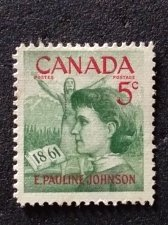 Buy Canada Scott #392 Used 1v Stamp E. Pauline Johnson, 1861
