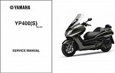 Buy 2004-2016 Yamaha Majesty 400 ( YP400 ) Scooter Service Manual on a CD - YP400