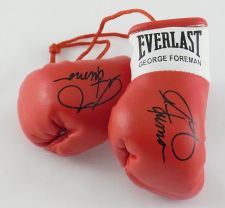Buy Autographed Mini Boxing Gloves George Forman